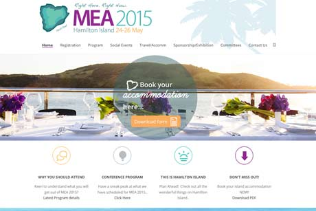 MEA 2015 conference web page