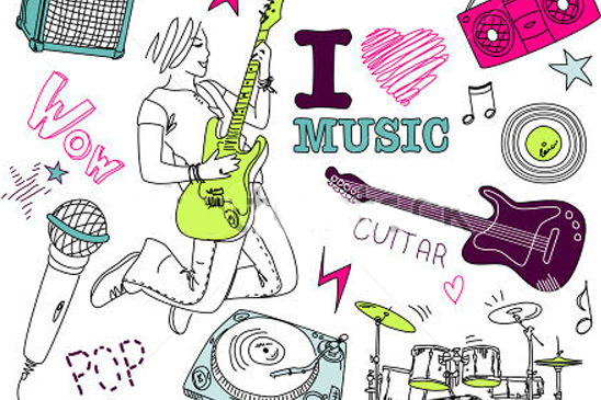 music, illustrations, advertising, Zoom Productions, marketing, drawing, creative agency